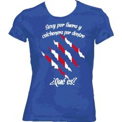 Camiseta Sexy y Colchonera