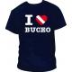 Camiseta I Love Buceo