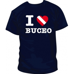 Camiseta I Love Buceo