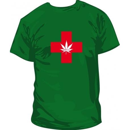 Camiseta Marihuna Terapeutica