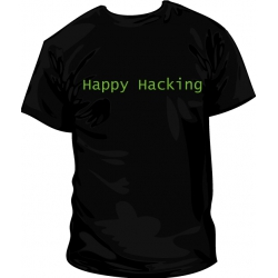 Camiseta Happy Hacking