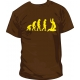 Camiseta Judo Evolucion