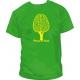 Camiseta Piensa en verde