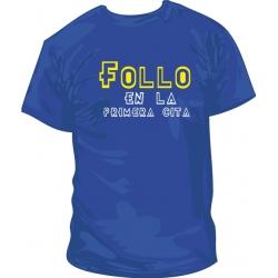Camiseta Follo en la Primera Cita
