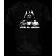 Camiseta viste el negro