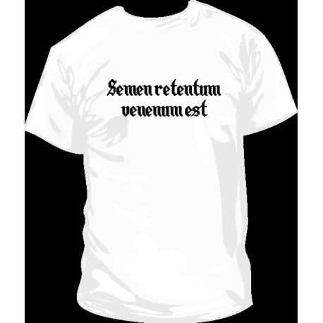 Camiseta Semen Retentum