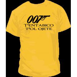 Camiseta 007 Licencia Para Rimar