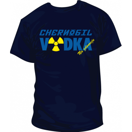 Camisetas Chernobil Vodka