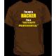 Camiseta security professional