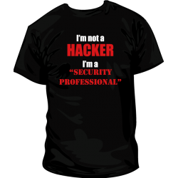 Camiseta security professional