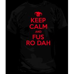 Camiseta KeepCalmFusRoDah