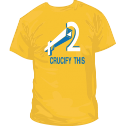 Camiseta Crucify This 2
