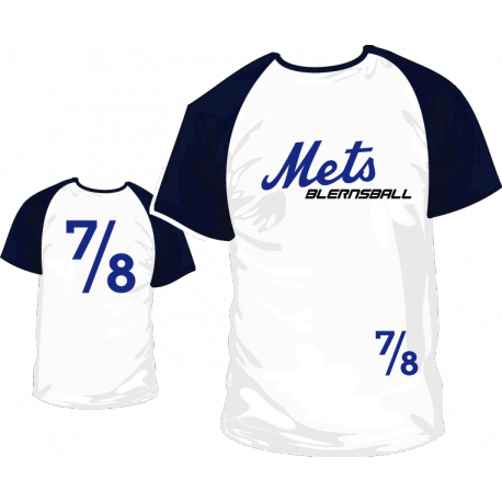 Camiseta Mets Blernsball 7/8