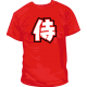 Camisetas Samurai Kanji