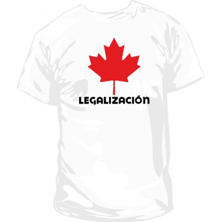 Camiseta Canada Legalización