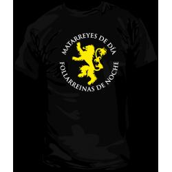 Camiseta Matareyes y Follareinas