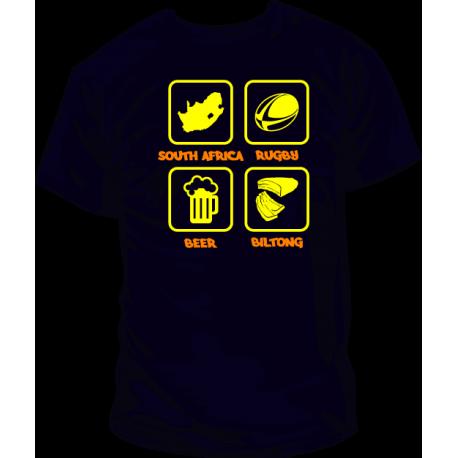 Camiseta Sudáfrica Rugby