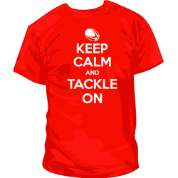 Keep Calm Tacle On