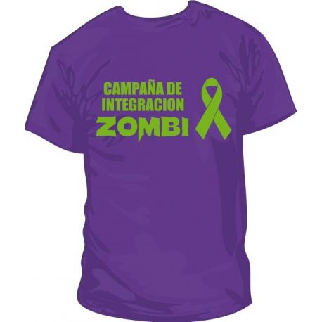 Camiseta Integración Zombie