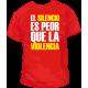 Camiseta Silencio Violencia