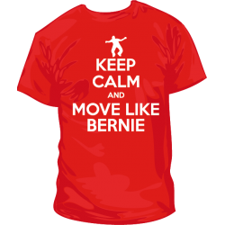 Camiseta Keep Calm and move like Bernie