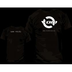 Camiseta void Linux y Pack Pegatinas - Modelo 1