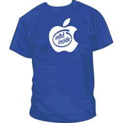Camiseta Apple Intel Inside