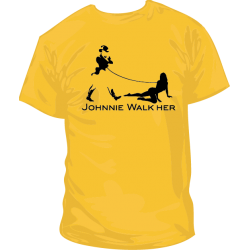Camiseta Johnny Walk Her