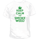 Camiseta Keep Calm Smoke Weed