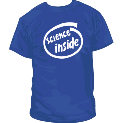 Camiseta Science Inside