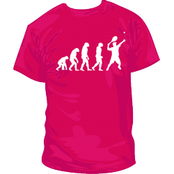 Camiseta Tenis Saque Evolucion