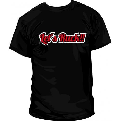 Camiseta Let's Ruck