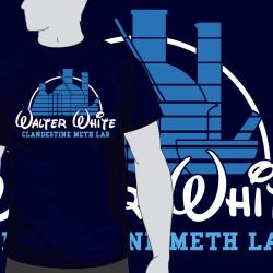 Walter White Clandestine Meth Lab
