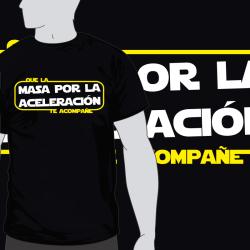 Camiseta Masa por Aceleracion