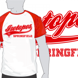 Camiseta Isótopos de Springfield