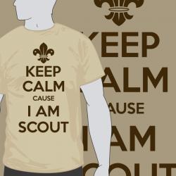 Keep Calm Cause I am scout
