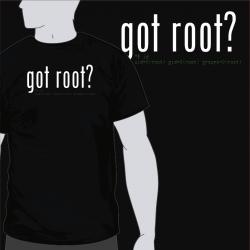 got root? [8equalsD]
