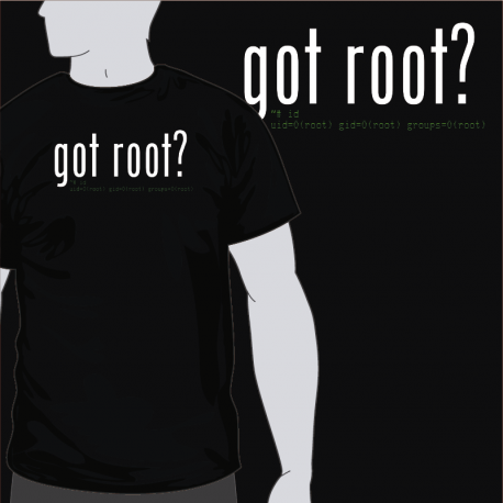 got root? [8equalsD]