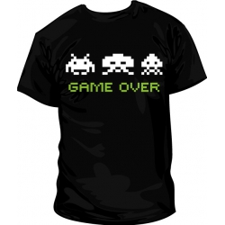 Camiseta Space Invader Game Over