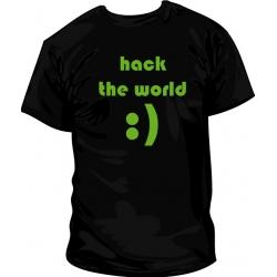 Camiseta Hack the world