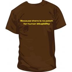Camiseta estupidez humana