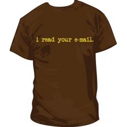 Camiseta I read your mail