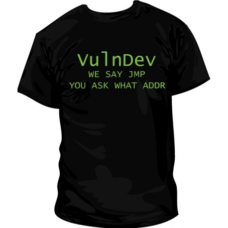 Camiseta VulnDev