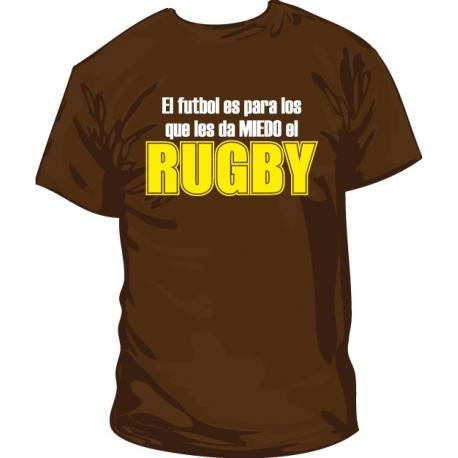 Camiseta Fútbol vs Rugby