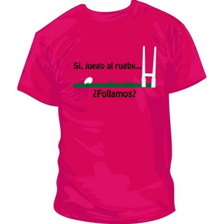 Camiseta juego al rugby pinchito