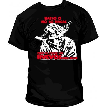 Camiseta Yoda Huevos