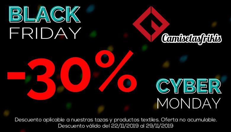 Black Friday 2019 - 30% Descuento